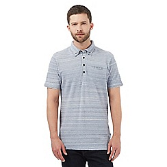 RJR.John Rocha - Big and tall grey double collared polo shirt