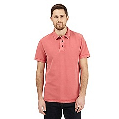 RJR.John Rocha - Big and tall pink textured polo shirt