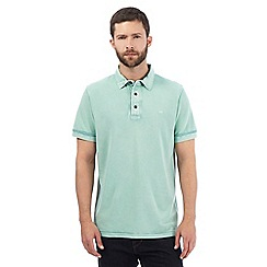 RJR.John Rocha - Big and tall green polo shirt