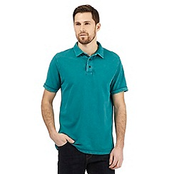 RJR.John Rocha - Big and tall turquoise textured polo shirt