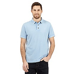 RJR.John Rocha - Light blue textured polo shirt