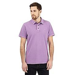 RJR.John Rocha - Lilac textured polo shirt