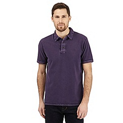 RJR.John Rocha - Purple textured polo shirt
