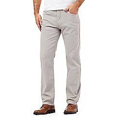 RJR.John Rocha - Big and tall grey bedford trousers
