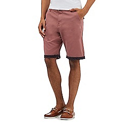 RJR.John Rocha - Big and tall dark pink shorts