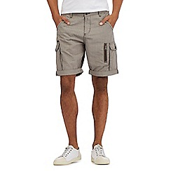 RJR.John Rocha - Grey basketweave cargo shorts
