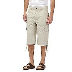 RJR.John Rocha - Cream cargo shorts