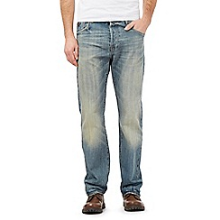 RJR.John Rocha - Mid wash straight fit jeans