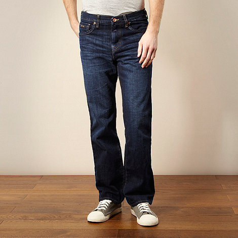 RJR.John Rocha - Designer dark blue regular fit jeans