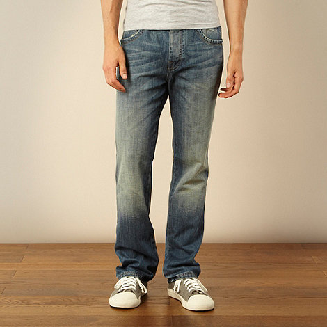 RJR.John Rocha - Big and tall designer blue relaxed fit jeans