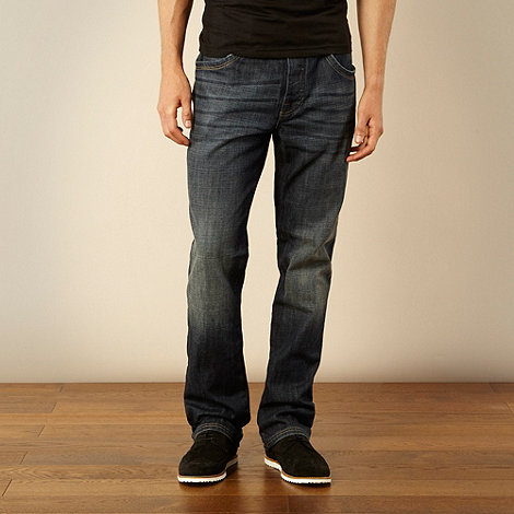 RJR.John Rocha - Designer dark blue relaxed fit jeans