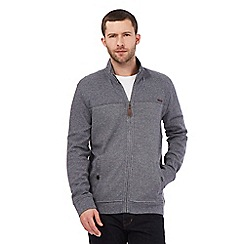 RJR.John Rocha - Big and tall grey zip through sweater