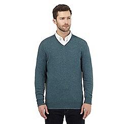 RJR.John Rocha - Turquoise V neck jumper
