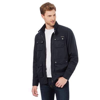 RJR.John Rocha Navy Harrington jacket