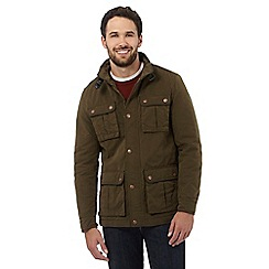 RJR.John Rocha - Big and tall dark green pocket jacket