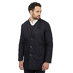 RJR.John Rocha - Big and tall navy quilted epsom coat