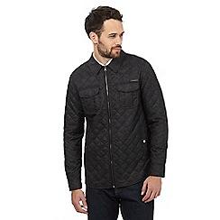 RJR.John Rocha - Dark grey quilted jacket