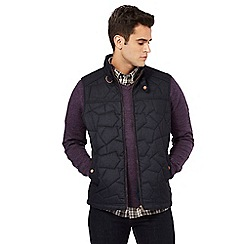 RJR.John Rocha - Big and tall navy quilted gilet