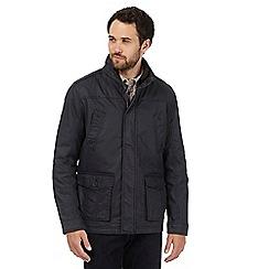 RJR.John Rocha - Big and tall navy fleece jacket