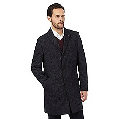 RJR.John Rocha - Big and tall navy wool two-toned peacoat