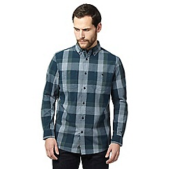 RJR.John Rocha - Dark green checked shirt