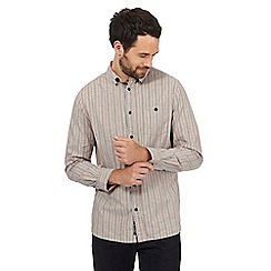 RJR.John Rocha - Big and tall multi-coloured striped print dobby shirt