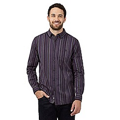 RJR.John Rocha - Big and tall multi-coloured striped cotton shirt