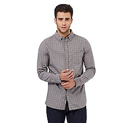 RJR.John Rocha - Big and tall grey gingham checked tailored fit shirt