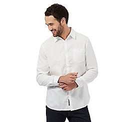 RJR.John Rocha - White textured regular fit shirt