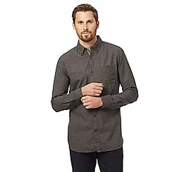 RJR.John Rocha - Big and tall grey patterned tailored fit shirt