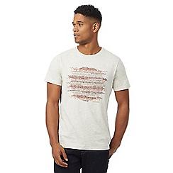 RJR.John Rocha - Big and tall natural spotted print t-shirt
