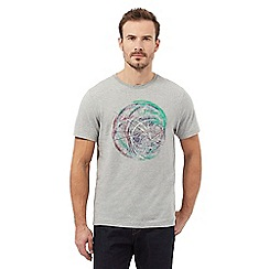 RJR.John Rocha - Grey bike wheel print t-shirt