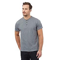 RJR.John Rocha - Big and tall grey textured short sleeve t-shirt