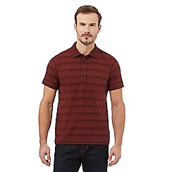 RJR.John Rocha - Big and tall red stripe polo shirt