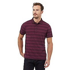 RJR.John Rocha - Purple stripe polo shirt