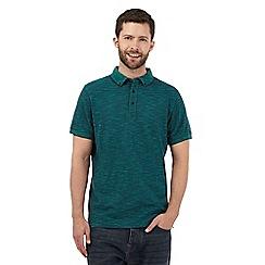 RJR.John Rocha - Green textured fine stripe polo shirt