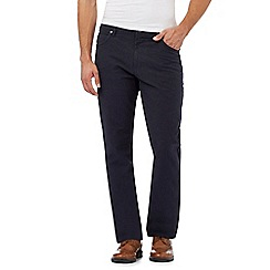 RJR.John Rocha - Big and tall navy straight leg jeans