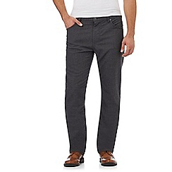 RJR.John Rocha - Grey textured trousers