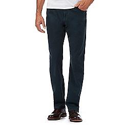 RJR.John Rocha - Dark green textured trousers