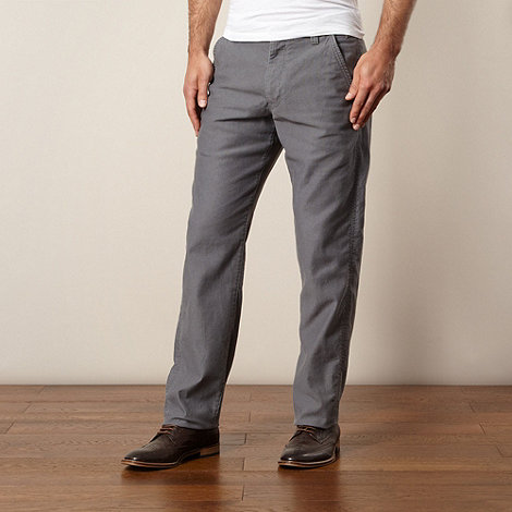 RJR.John Rocha - Designer grey ribbed trousers