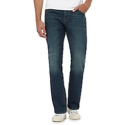 RJR.John Rocha - Big and tall blue vintage wash straight fit jeans