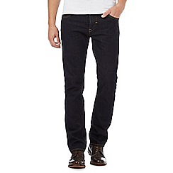 RJR.John Rocha - Dark blue rinse wash slim fit jeans
