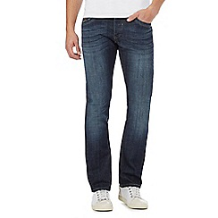 RJR.John Rocha - Big and tall blue vintage wash slim jeans