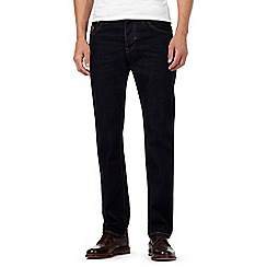 RJR.John Rocha - Big and tall dark blue rinse straight leg jeans