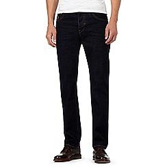 RJR.John Rocha - Dark blue rinse straight leg jeans