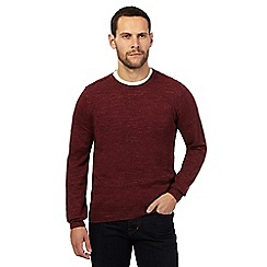 RJR.John Rocha - Big and tall red crew neck jumper