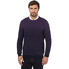 RJR.John Rocha - Purple crew neck jumper