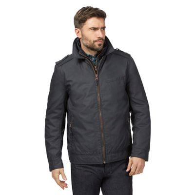 RJR.John Rocha Big and tall navy harrington jacket
