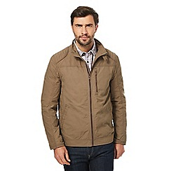 RJR.John Rocha - Big and tall tan harrington jacket