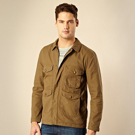 RJR.John Rocha - Designer tan lightweight canvas jacket